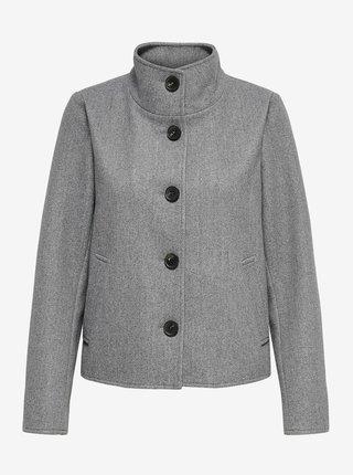 Šedý kabát ONLY Victoria