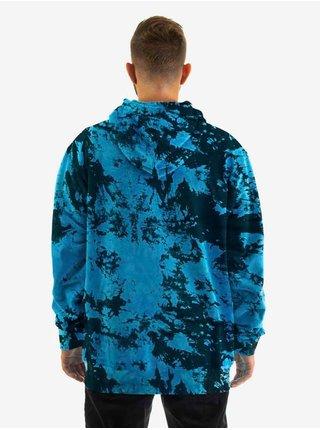 Horsefeathers JOSHUA BLUE TIE DYE pánská mikiny na zip - černá