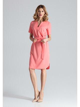 Figl šaty  -  korálová