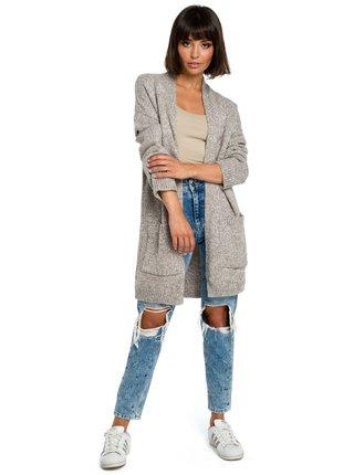 BeWear Pullover BK001 Brown Melange