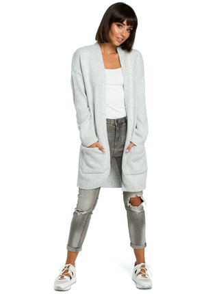 BeWear Pullover BK001 Grey Melange