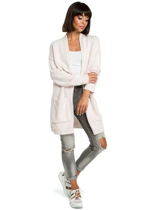 BeWear Pullover BK001 Powder Pink Melange