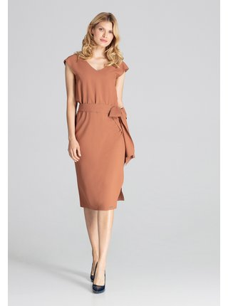 Figl šaty  -  hnědá