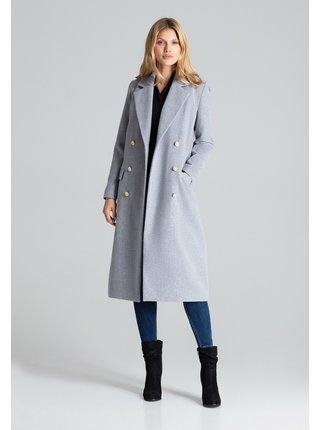 Figl kabát  -  šedá