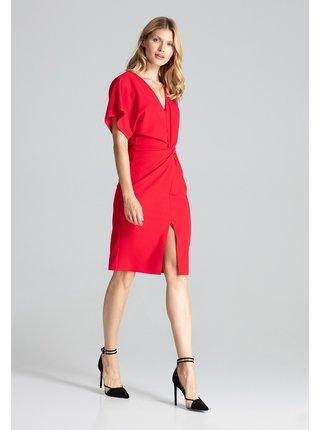 Figl šaty  -  červená