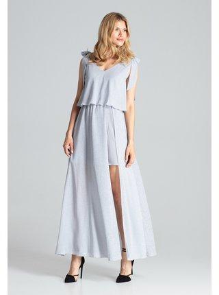 Figl šaty  -  šedá