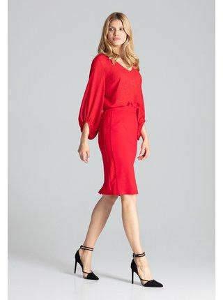 Figl sukně  -  červená