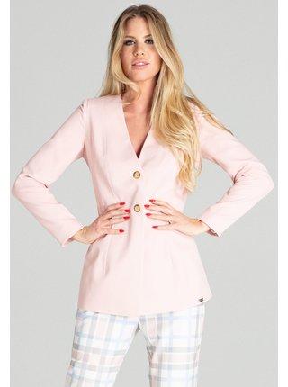 Figl bunda  -  růžová