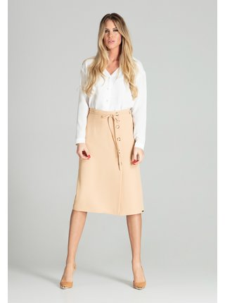 Figl sukně  -  béžová