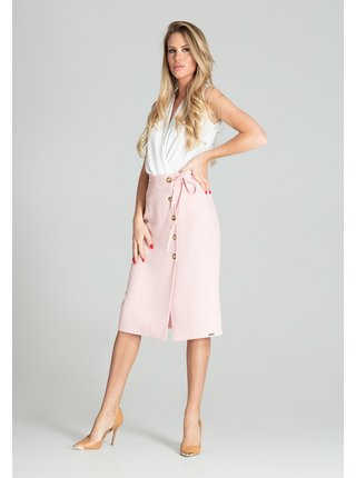 Figl sukně  -  růžová