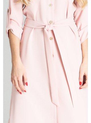Figl šaty  -  růžová