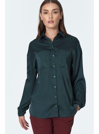 Tmavě zelená košile Nife