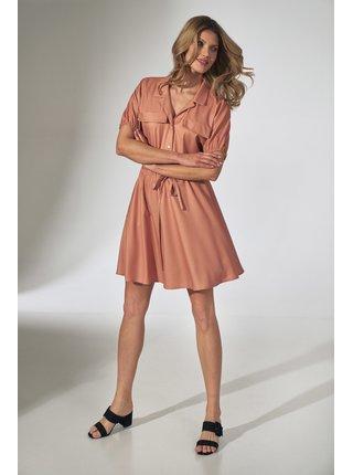 Figl šaty  -  oranžová