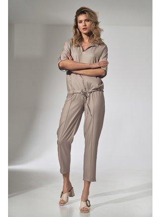 Figl kalhoty  -  béžová