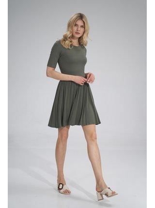 Figl šaty  -  tmavávé