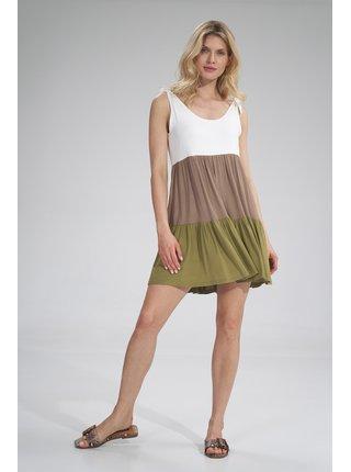 Figl šaty  -  olivová