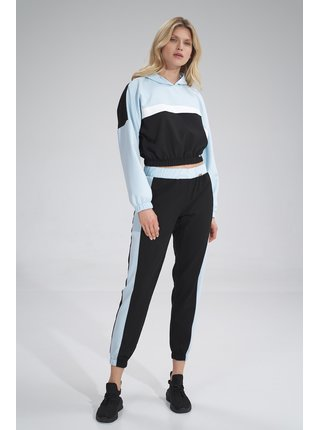 Figl kalhoty  -  černá / modrá