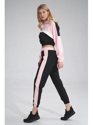 Figl kalhoty  -  černá / růžová