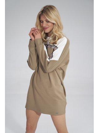 Figl šaty  -  ECRU / BEIGE