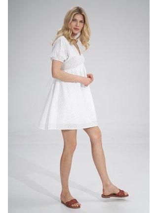 Figl šaty  -  bílá