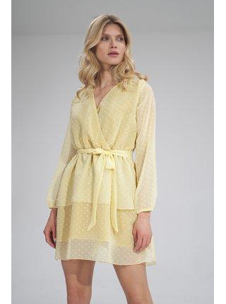 Figl šaty  -  žlutá