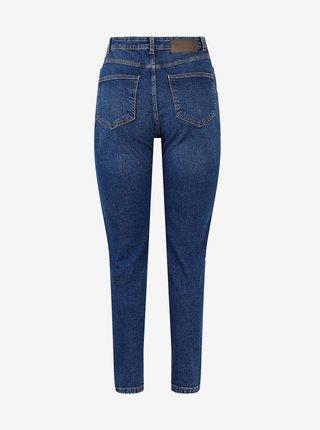 Tmavě modré mom džíny Pieces Kesia
