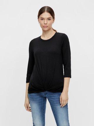 Černé těhotenské tričko Mama.licious Macy