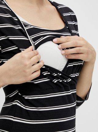 Sada dvou černých těhotenských/kojicích triček Mama.licious Lea