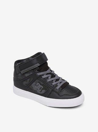 Dc PURE HT EV BLACK/CAMO PRINT letní boty dětské - černá