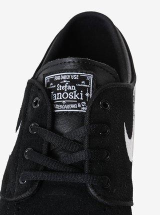 Nike SB Stefan Janoski (GS) black/white letní boty dětské - černá
