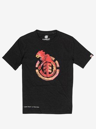Element WBYC FLINT BLACK dětské triko s krátkým rukávem - černá