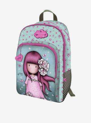 Santoro tyrkysový batoh Gorjuss Cherry Blossom