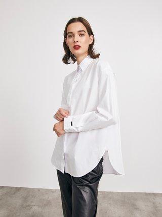 Bílá dámská volná košile METROOPOLIS Rosalie