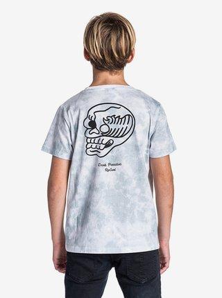 Rip Curl DARKY PARADISE OPTICAL WHITE dětské triko s krátkým rukávem - šedá