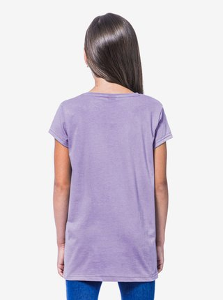 Horsefeathers NICKI wisteria dětské triko s krátkým rukávem - fialová
