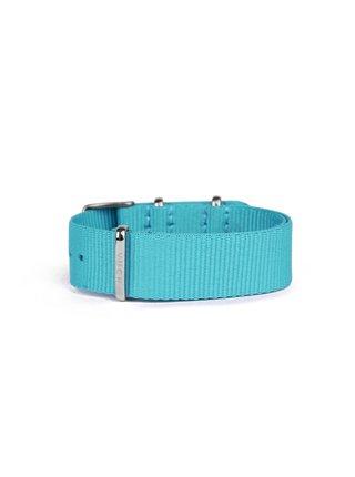 Modrý dámský textilní pásek VUCH Blue Silver