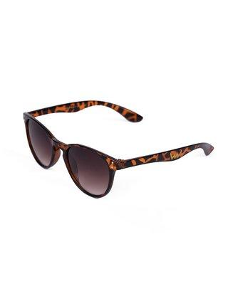 Hnědé dámské sluneční brýle se zvířecím vzorem VUCH Nikki