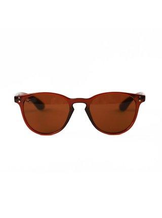 Hnědé dámské sluneční brýle VUCH Ella