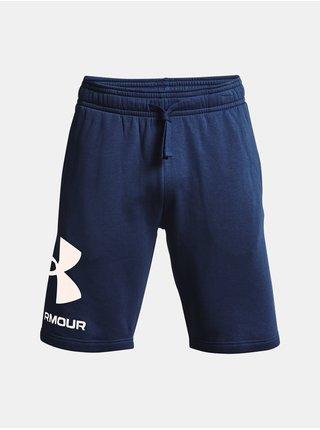 Kraťasy Under Armour Rival FLC Big Logo Shorts - modrá