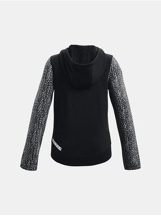 Mikina Under Armour Rival Fleece FZ - černá