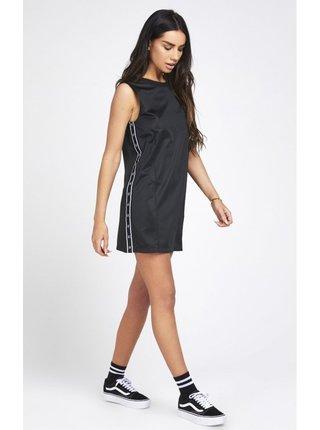 Černé dámské šaty Dress Sports Satin SikSilk