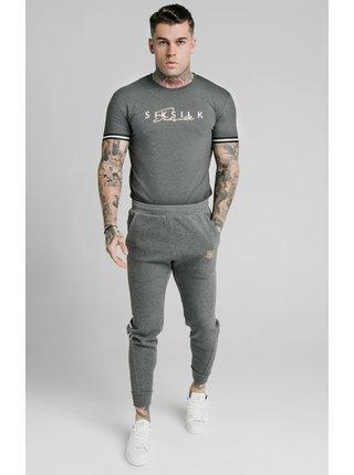 Šedé pánské tričko TEE SIGNATURE S/S