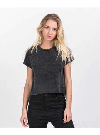 Černé dámské tričko Destroy June Sixth