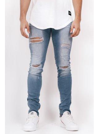 Světle modré pánské slim fit džíny Blue Slim June Sixth Jeans