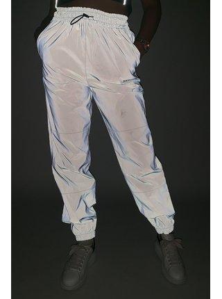 Černé dámské reflexní tepláky Joggers logo reflective June Sixth