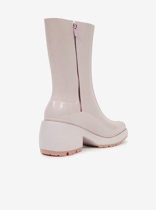 Krémové dámské kotníkové boty Melissa Nancy Boots