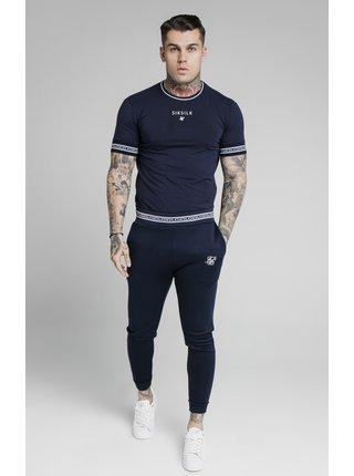 Tmavě modré pánské tričko TEE GYM HEM STRAIGHT ELEMENT