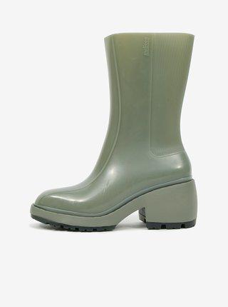 Zelené dámské kotníkové boty Melissa Nancy Boots