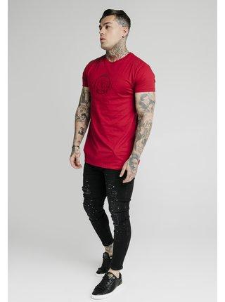 Červené pánské tričko TEE GYM RAGLAN IMPERIAL