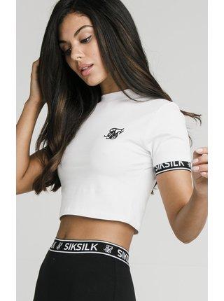 Bílé dámské crop top tričko TEE TECH CROP